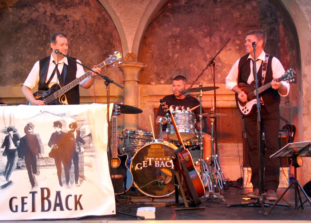 Findet statt: Beatles-Stammtisch-Konzert: GET BACK